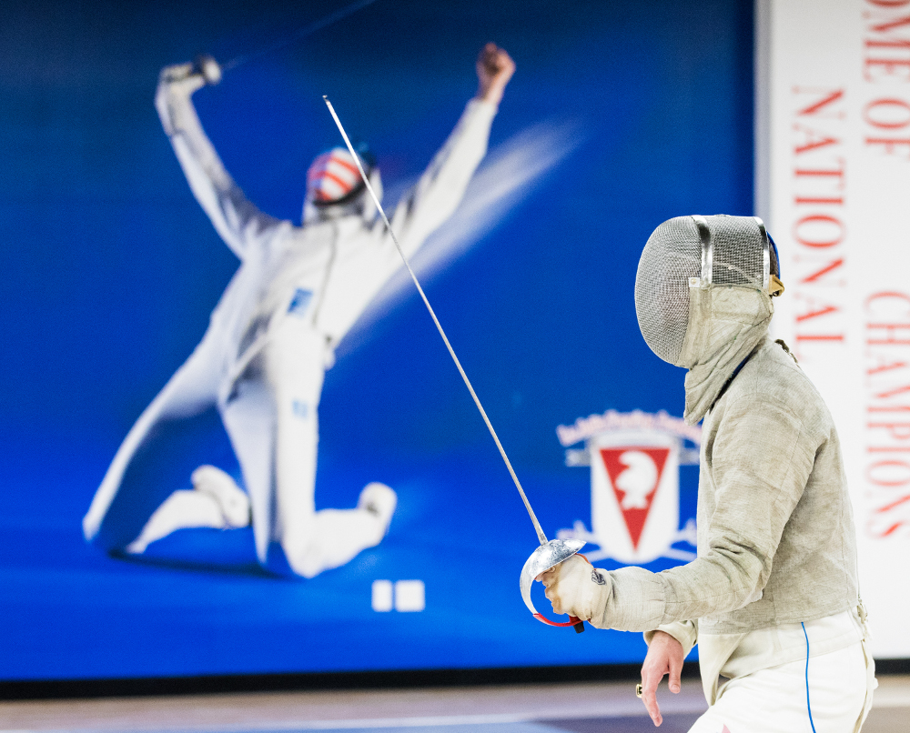 Fencing increases your confidence and activates your mind
