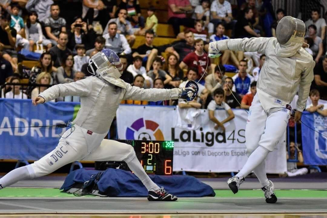 Fencing combines the athleticism of tennis, soccer or basketball with the discipline of a martial art
